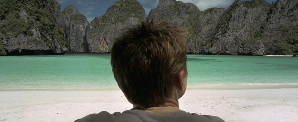 Leonardo DiCaprio in 'The Beach 2000'