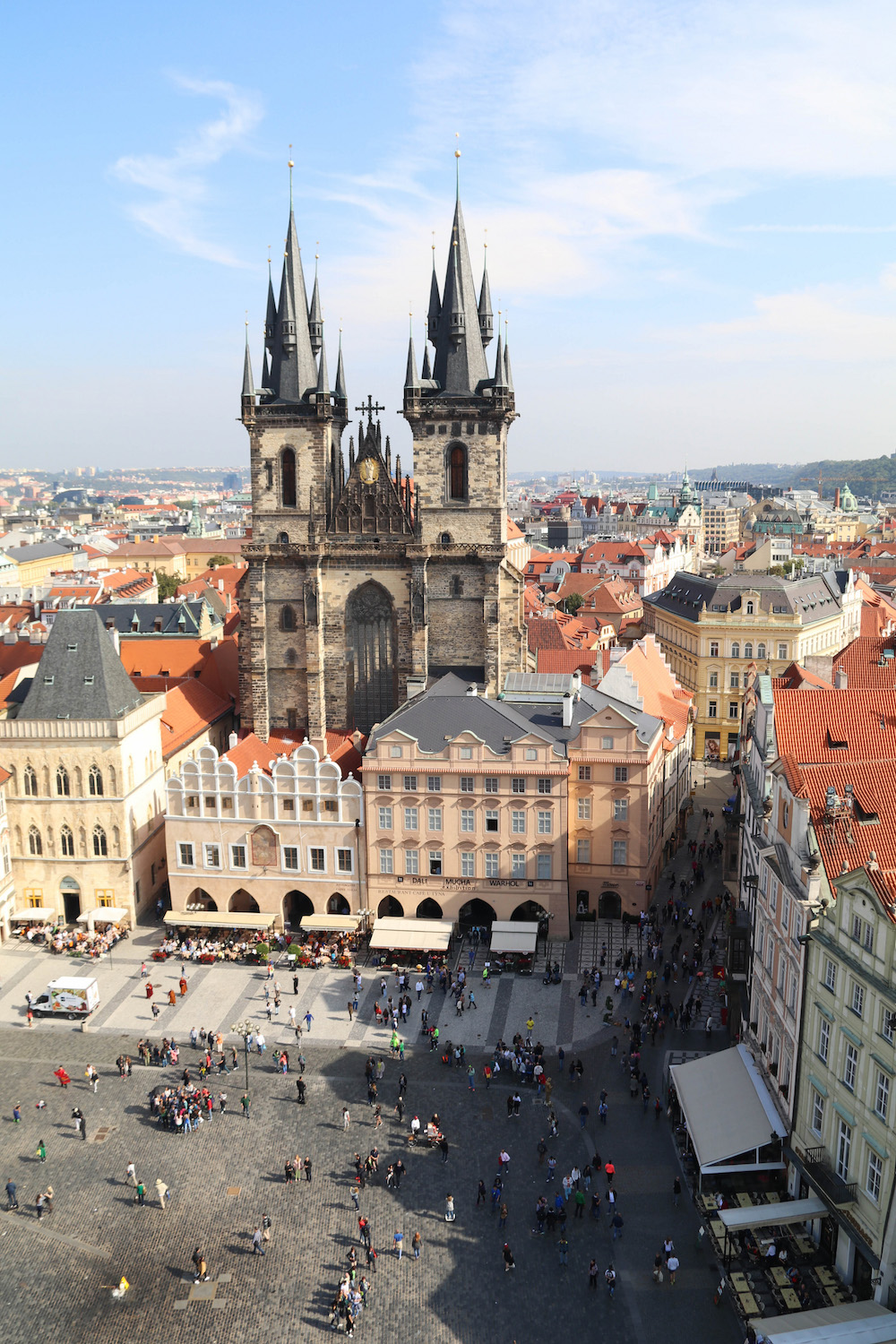 Astronomical Clock Tower in Prague