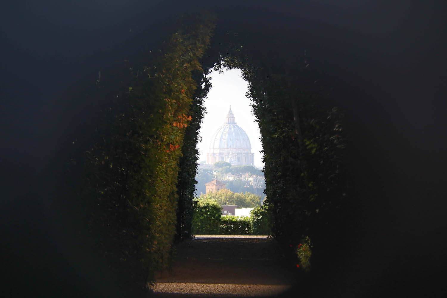 Keyhole in Rome